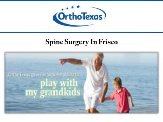 Spine Surgery In Frisco