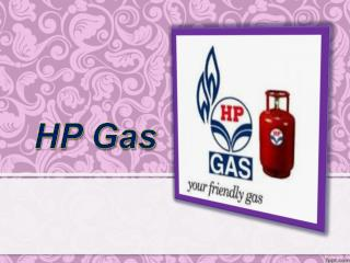 HP Gas Online Booking Process