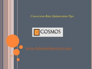 Website Conversion Rate Optimization Tips - Dubai, UAE