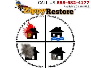 Emergency Fire Restoration Tampa FL  888-682-4177  ZippyRest