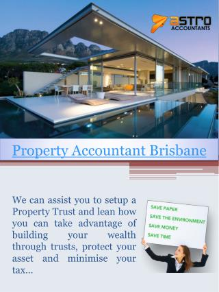 Property Accountant Brisbane