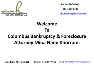 Columbus Bankruptcy Lawyer