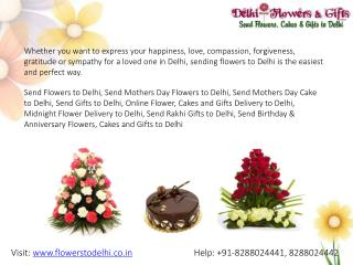 Send Mothers Day Flowers to Delhi