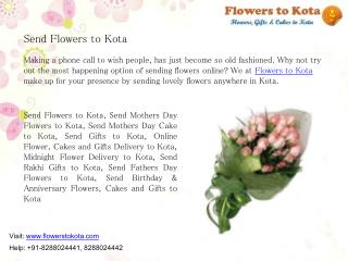 Send Flowers to Kota