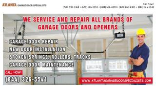 Atlanta Garage Door Specialists