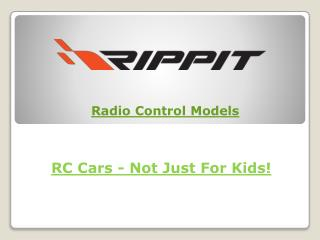 RC Cars - Not Just For Kids!