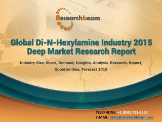 Global Di-N-Hexylamine Industry 2015 Market Research Report