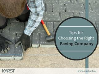 Tips on Finding the Right Paving Services in Bibra Lake