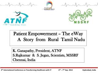 Patient Empowerment - The e Way, A Story from Rural Tamilnad