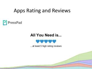 Apps Rating and Reviews