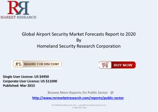 2015 - 2020 Global Airport Security Market Overview