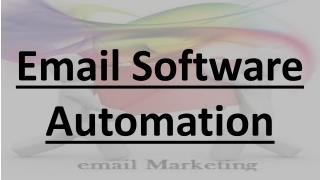 Email Software Automation