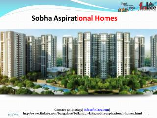 Sobha Developer is coming up with its project names Sobha As