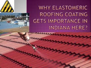 Why Elastomeric Roofing Coating Gets Importance in Indiana H