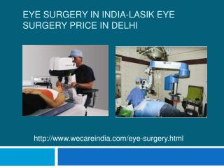 Eye Surgery in India-Lasik Eye Surgery Price in Delhi