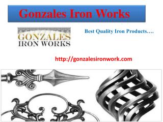 Gonzales Iron Works - Best Iron Gate Provider in Texas