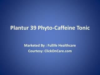 Buy Plantur 39 Online in India