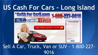 US Cash For Cars - Long Island