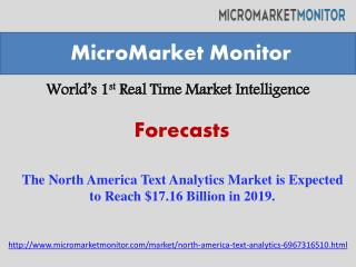 The North America Text Analytics Market is Expected to Reach