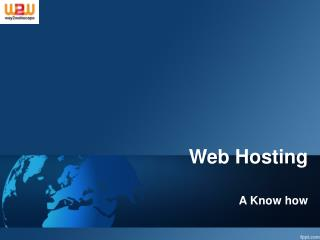 Trustworthy and reliable Web hosting service is a promise!
