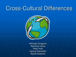 Cross-Cultural Differences