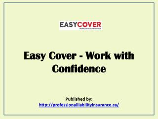 Easy Cover - Work With Confidence
