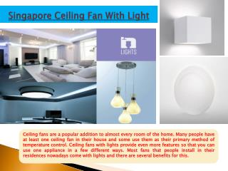 Led Ceiling Lights Singapore
