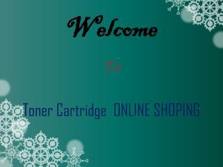 Get the Best Online Toner Cartridge