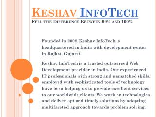 Mobile Development, Website Design Company India