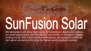 Solar Power Installation Companies San Diego