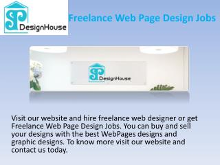 Graphic Design House And Freelance Design Jobs