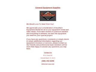 General Equipment Supplies