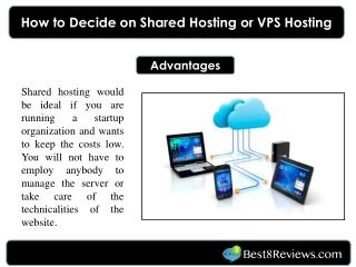 How to Decide on Shared Hosting or VPS Hosting