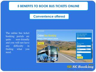 5 BENEFITS TO BOOK BUS TICKETS ONLINE