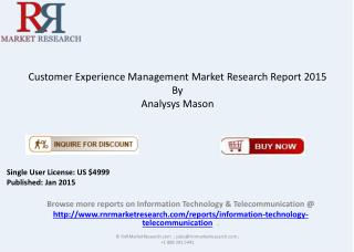 2015 Customer Experience Management Market Overview