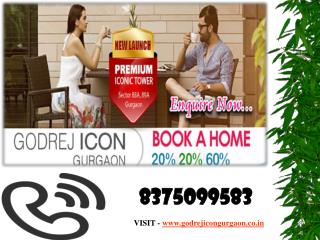 Godrej Icon Floor Plan - 2.5/3/4 BHK Appt 8375099583