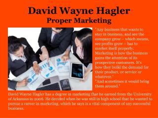 David Wayne Hagler