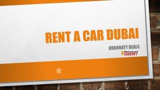 Best Deals for Reant a Car Dubai