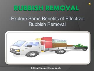 Hire Professional Waste Removal Services In London