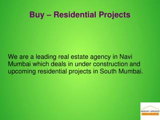 Investment in properties navi mumbai