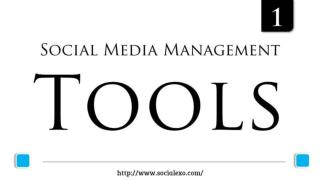 Social Media Management & Scheduling Tool