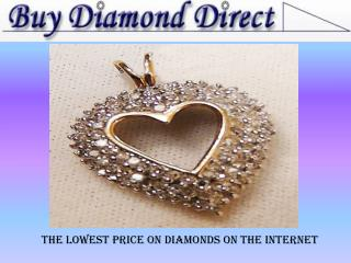 Shop for the best diamond jewelry online at Buy Diamond Dire