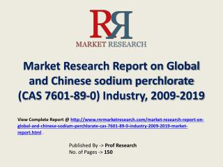 sodium perchlorate Industry 2019 Forecasts for Global and Ch