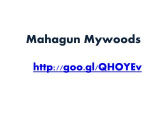 Mahagun Mywoods Is Residential Project Launched By Mahagun G