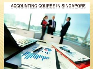 Get training in the accounting course with the professionals