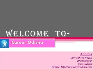 Various Jobs In Odisha