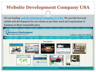 Website Development Company USA & web design company usa