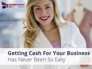 Business Cash Advance from Merchant Advisors