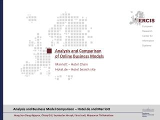 Analysis and Comparison  of Online Business Models