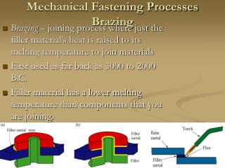 Mechanical Fastening Processes Brazing